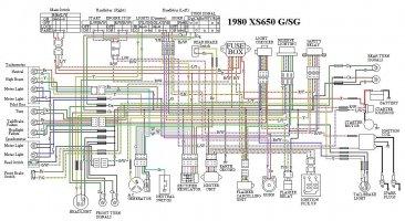 wiring diagram 1981 yamaha xs650 wire data schema u2022 rh lemise co