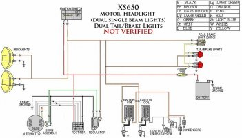 Groovy Pamco Xs650 Wiring Diagram Electronic Schematics Collections Wiring 101 Kwecapipaaccommodationcom